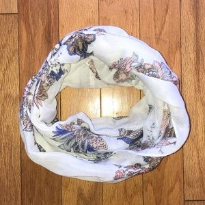 Paisley Floral Infinity Fashion Scarf
